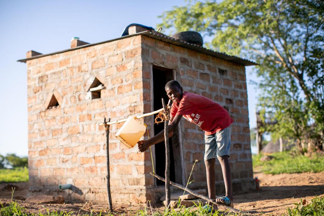 Handwashing in Zambia