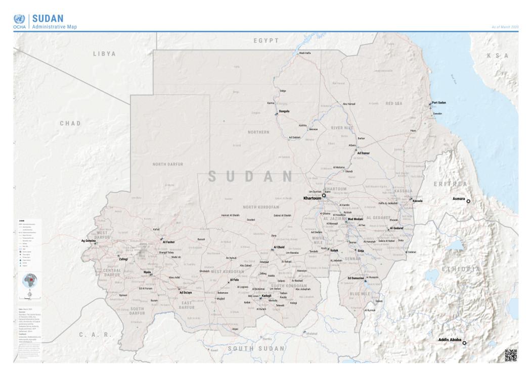 08 Sudan map 02Mar20 A3 GoS