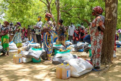 Assistance en vivres inondations2020