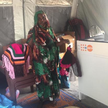 Sawakin, an IDP in Ag Geneina