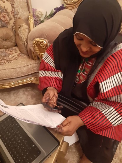 Courtesy of the Libyan Women Network for Peacebuilding
