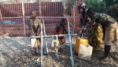 Ibomba ry'amazi ryashinzwe n'ishirahamwe mpuzamakungu UNICEF mu ntara ya Cibitoke