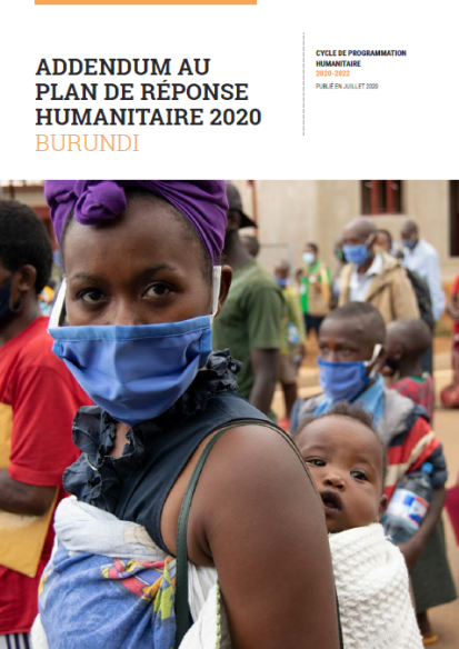 Addendum au Plan de réponse humanitaire 2020 ©OCHA Burundi