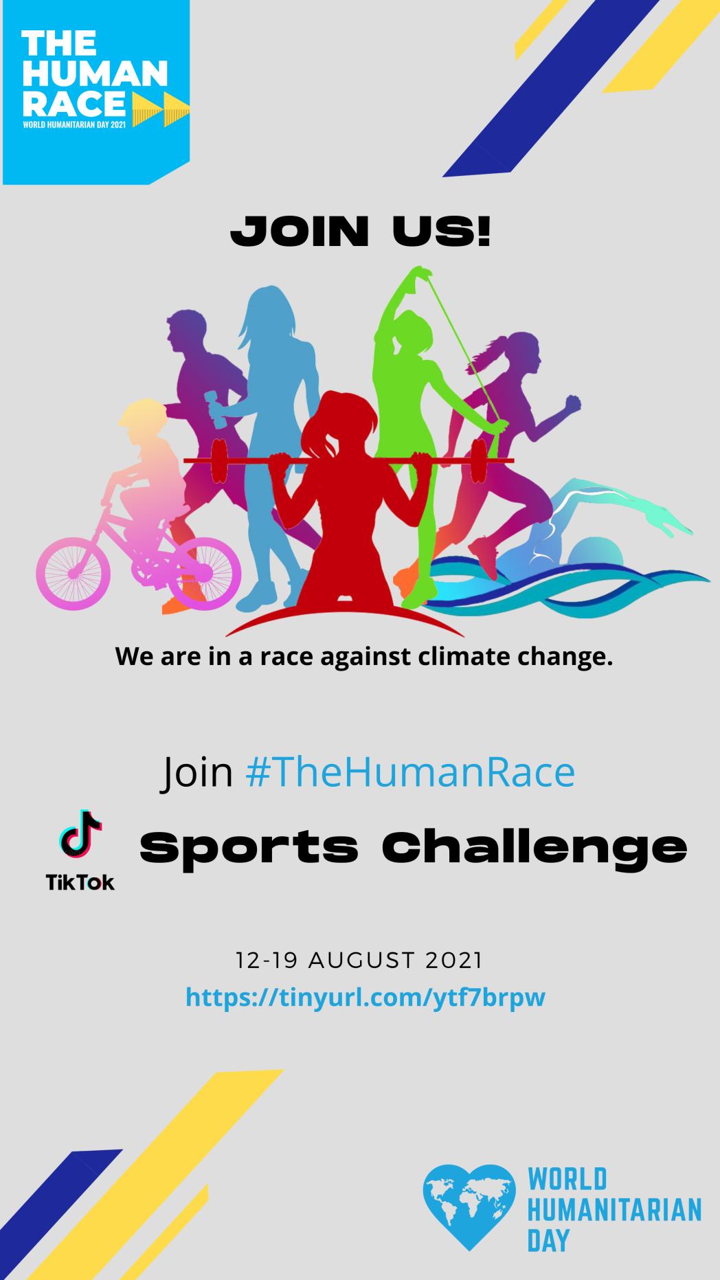 World Humanitarian Day 2021 Sports Challenge