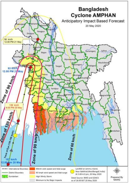 Bangladesh Amphan Mao 20 May 2020