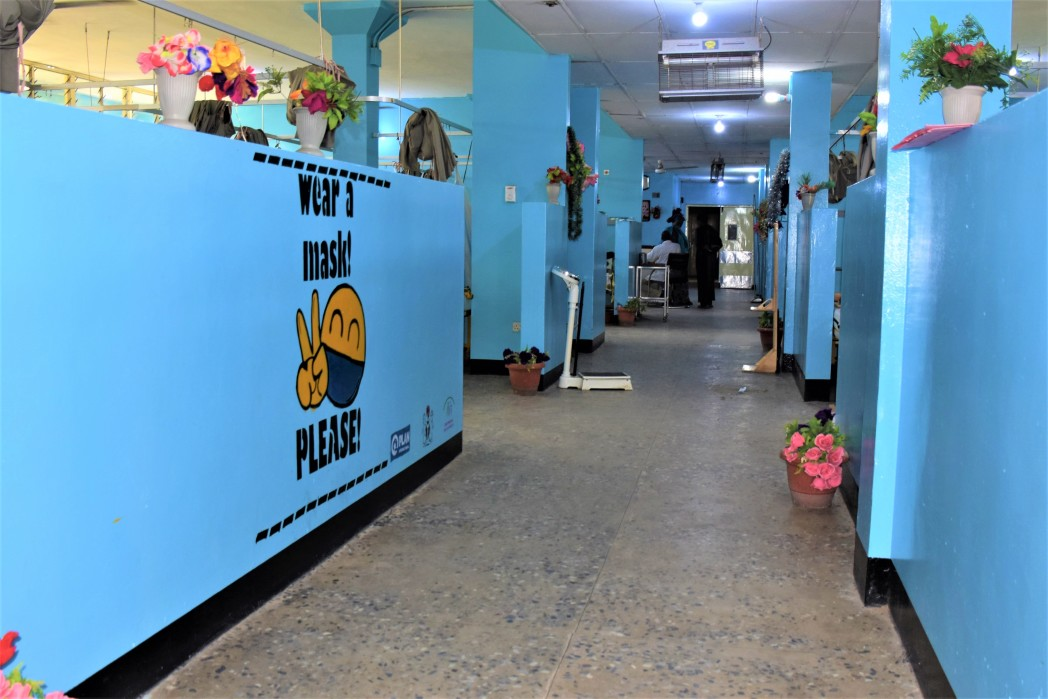 Renovated Emergency Pediatric Wards - Maiduguri - Nigeria