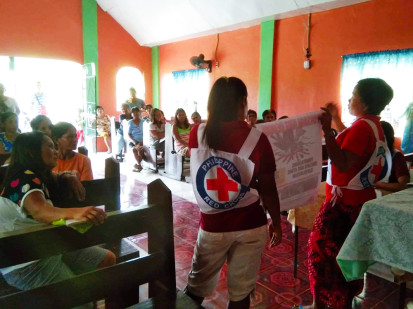 Philippine Red Cross dengue community campaign in Camarines Sur credit Philippine Red Cross
