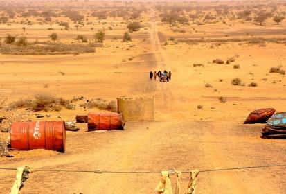 Niger, refugees arriving at the border
