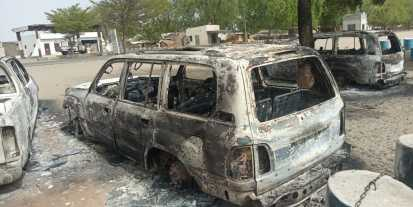 Monguno Hub - Vehicles Burned