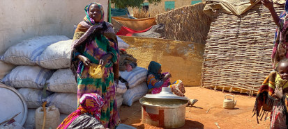 Newly displaced people in El Geneina, West Darfur in January 2020_UNHCR