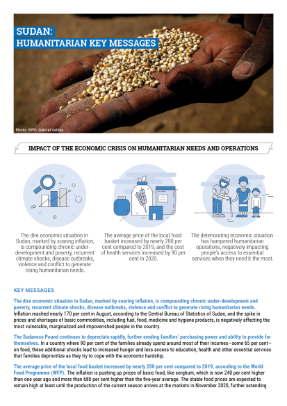 Sudan: Humanitarian Key Messages - September 2020