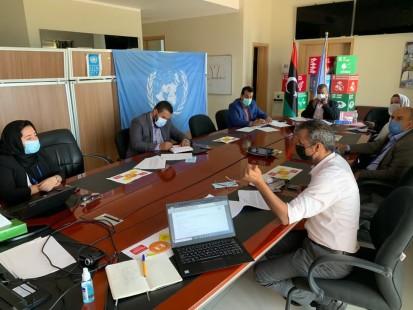 مشاورات إقليمية في طرابلس (نصر الدين الدخاخني/مكتب تنسيق الشؤون الإنسانية في ليبيا)