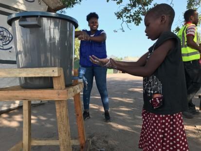 Mozambique - COVID sensitization in Mandruzi