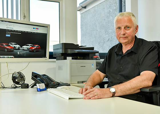 <html><head></head><body><p>Managing Director of Bourne Road Garage</p></body></html>