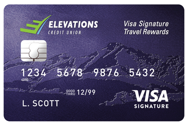 Visa Signature Travel Rewards Card