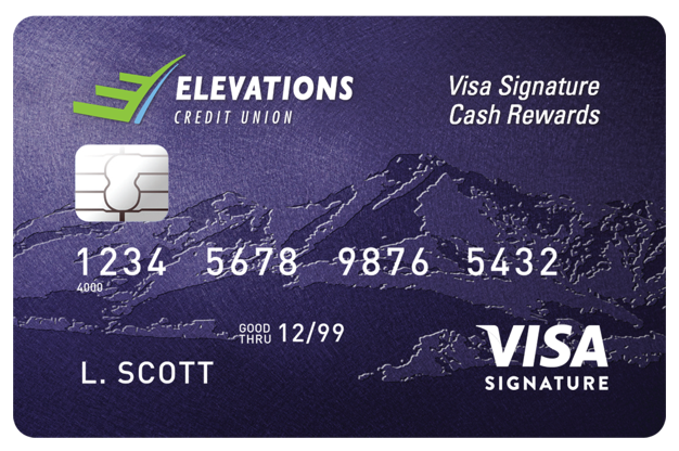 Visa Signature Cash Rewards Card