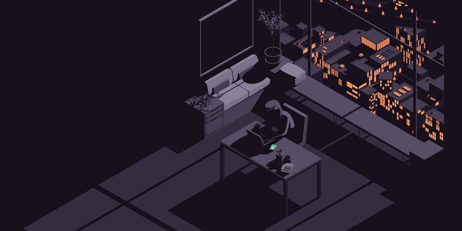 A developer sits at their desk in a high-rise apartment building, deploying production code, their phone next to them lit up green to indicate that everything appears to be OK.  Out the window behind them, block by block the city lights flicker and go dark as a bug in their production code inexplicably takes down the city's power grid. Will the citizens report the bug to them? If only they were using Sentry, they would already know.