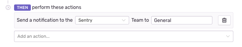 configure alert teams