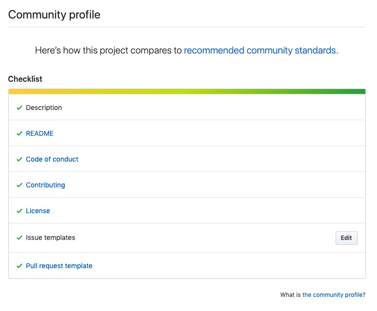 Techqueria meets all GitHub Community Standards.