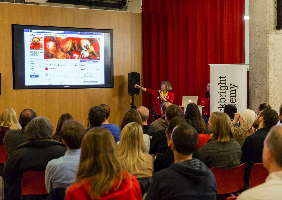Chloe Condon, Hackbright graduation