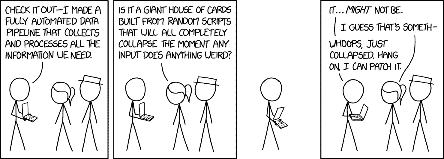 xkcd comic about data pipeline