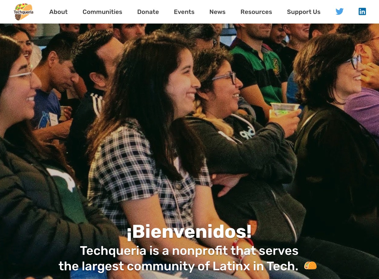 Updated version of the Techqueria website
