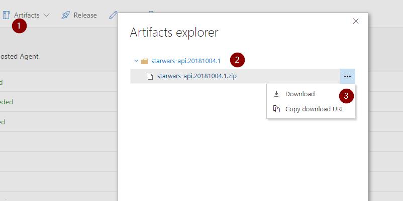 Configuring a Build Pipeline on Azure DevOps for an ASP NET