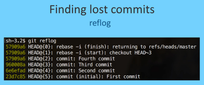 using-git-like-a-pro tip-finding lost commit