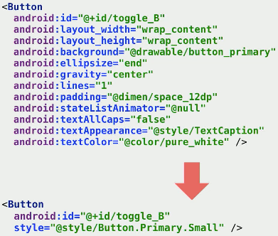 Android Resources Refactoring