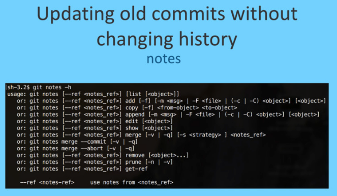 using-git-like-a-pro tip-notes