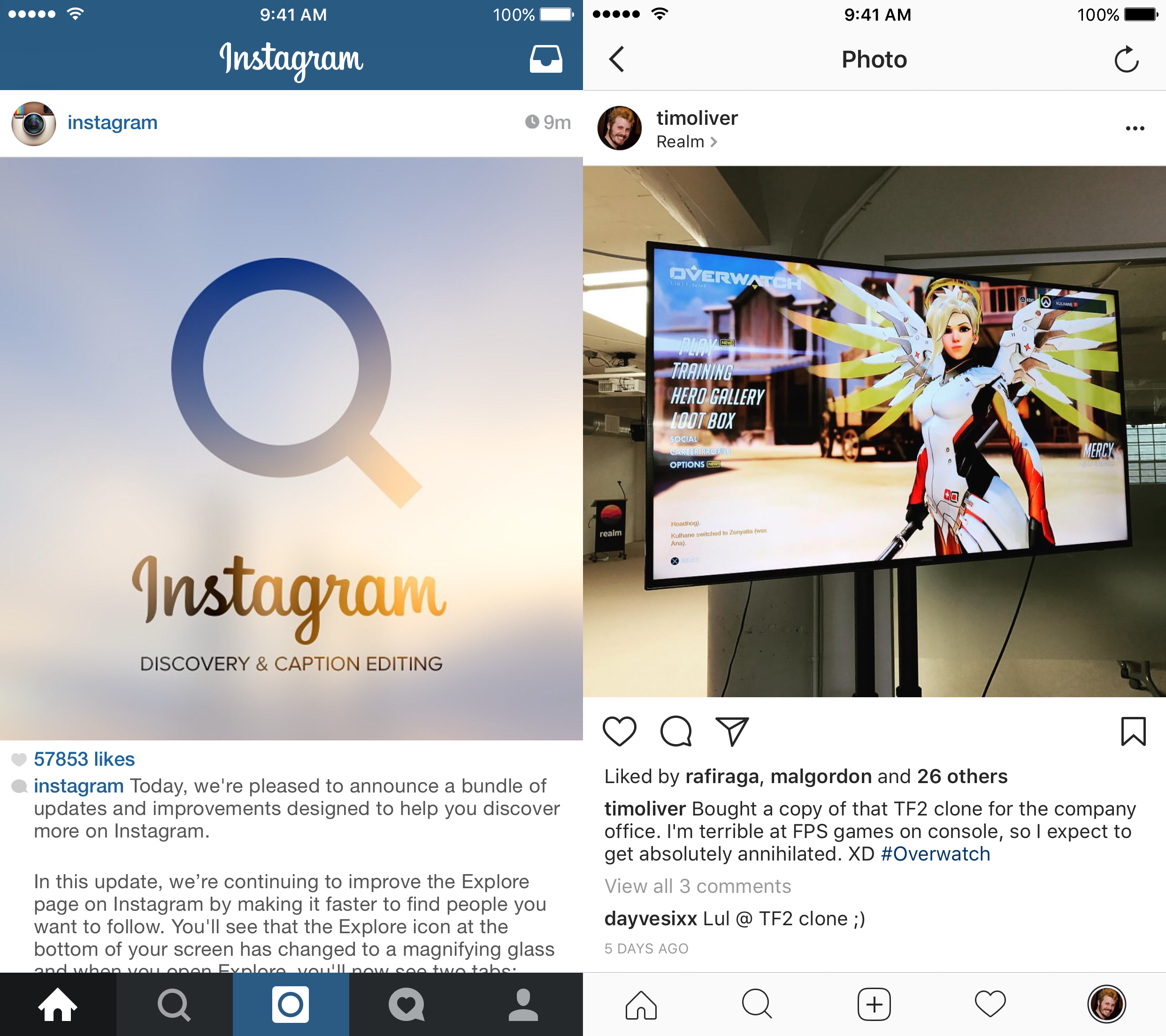 Instagram New Look in 2016