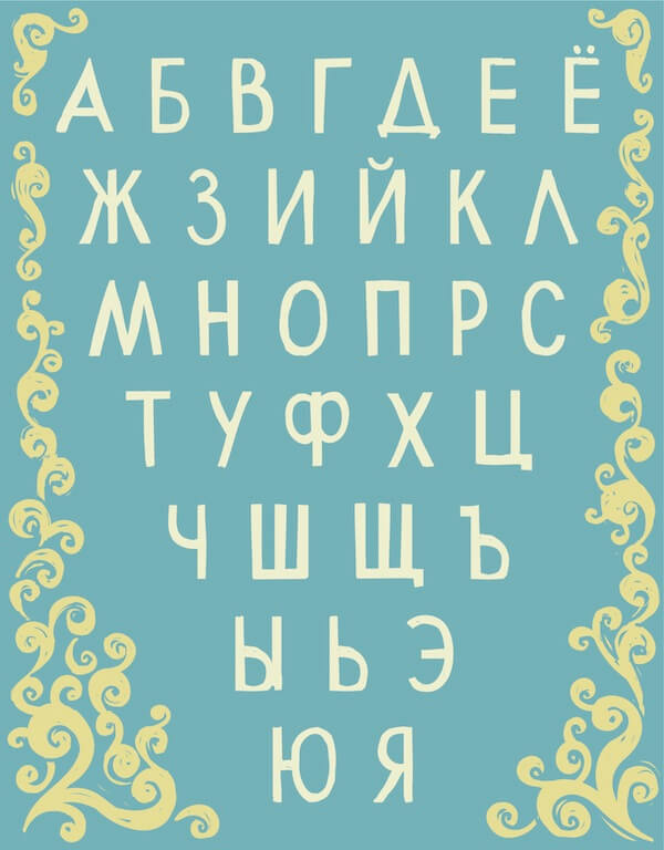 The Russian Cyrillic Alphabet.jpg