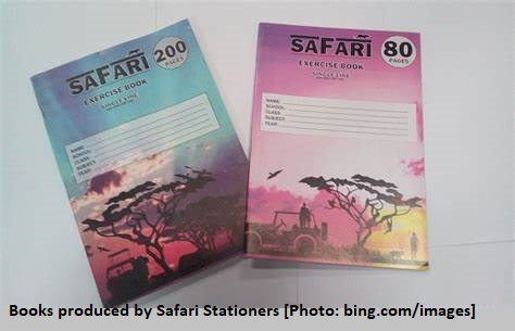 Books produced by Safari Stationers [Photo: bing.com/images]
