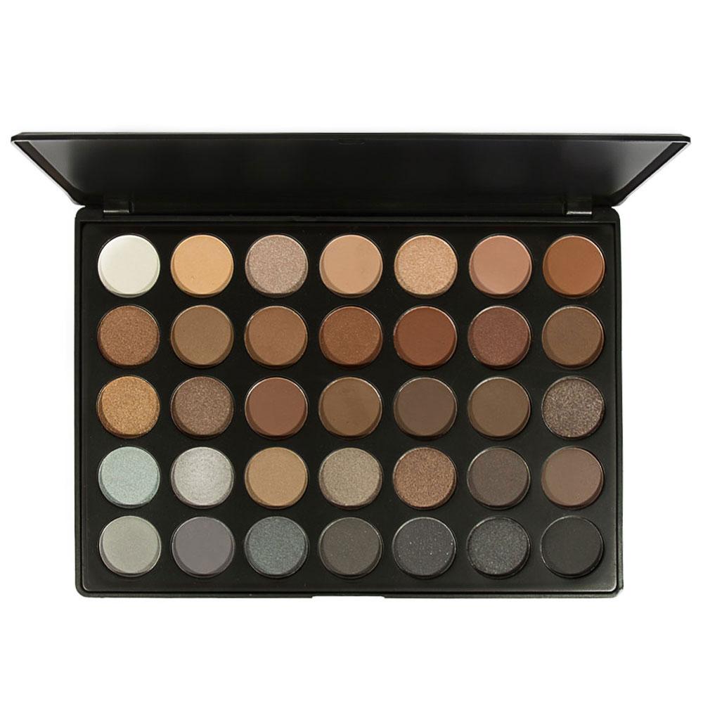 Morphe 35k eyeshadow palette review beauty in bold - In Stock