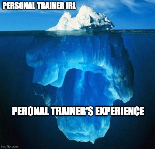 personal trainer experience