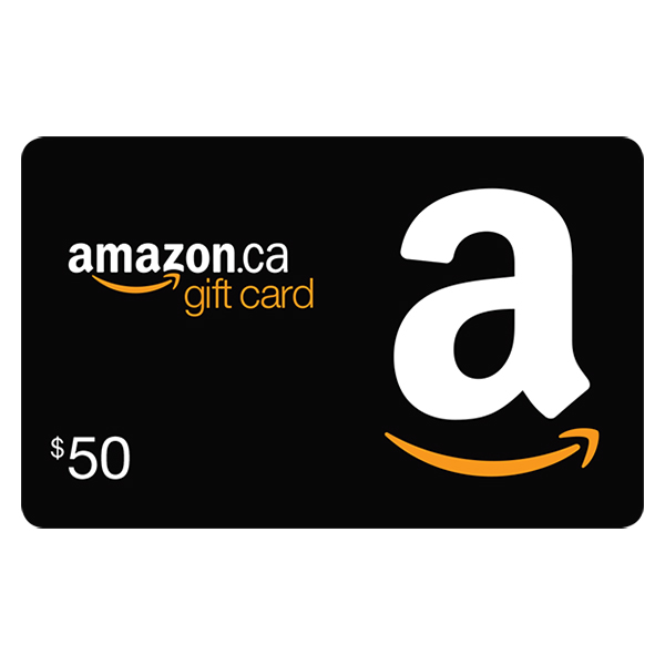 $50 Amazon.ca Gift Card