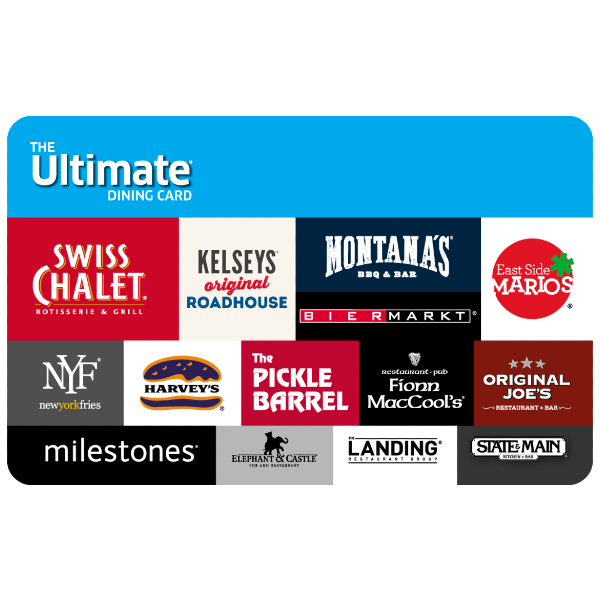 $60 Ultimate Dining e-Gift Card