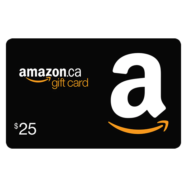 $25 Amazon.ca Gift Card