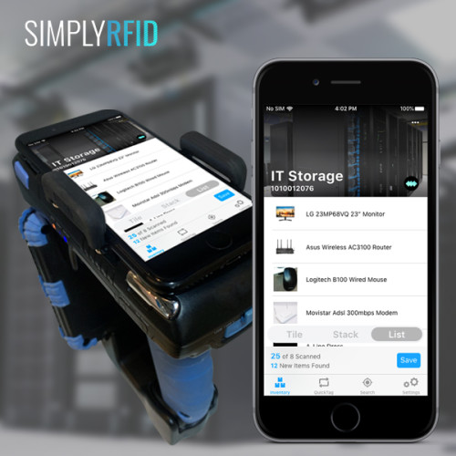SimplyRFiD Wave: Radio Frequency Identification Tracking for IT Departments