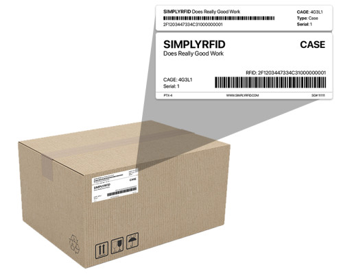 PTX - Pre-programmed TX tag (PTX) for supply chain RFID