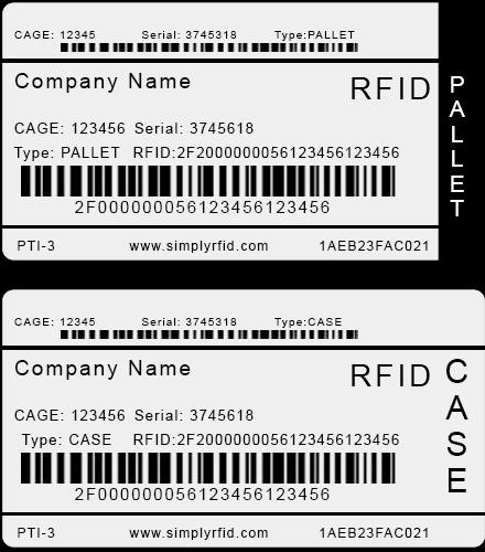 DoD DLA RFID Tag