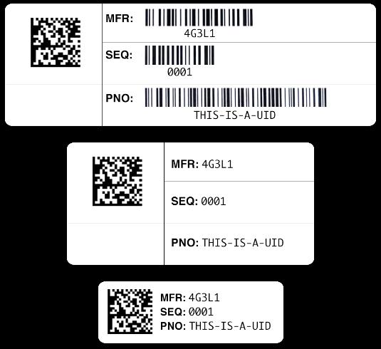 DOD RFID UID Tags
