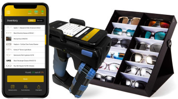 AIMS Eyewear Management System with Wave CS108 handheld and Pogi
