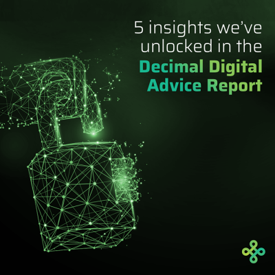5 Digital Advice Insights - Decimal Digital Advice Report 2019