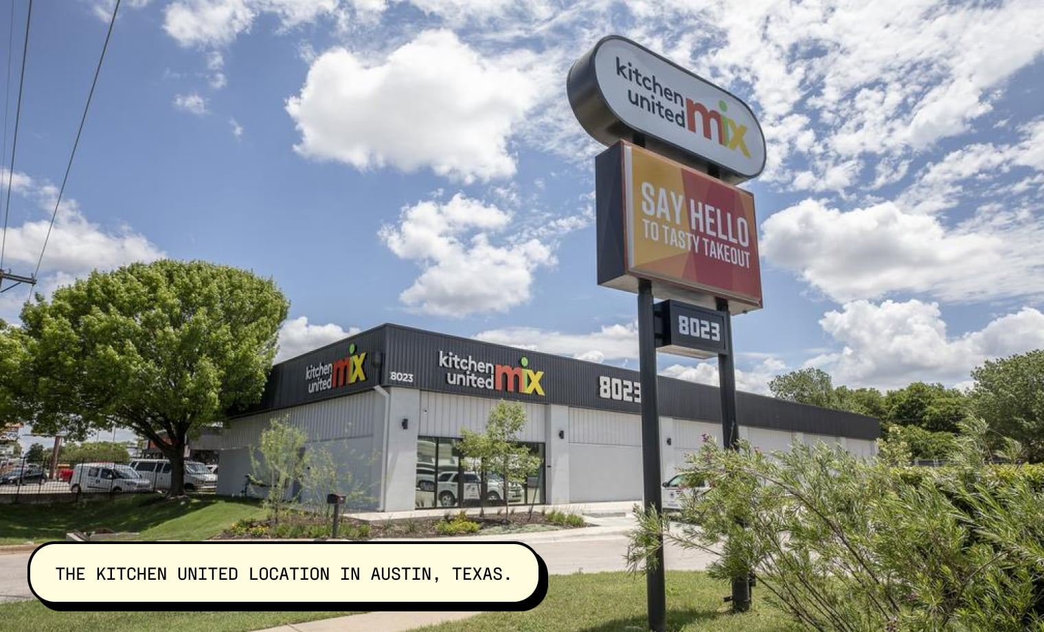 The Kitchen United location in Austin, Texas. Image Source: Arnold Wells for Austin Business Journal