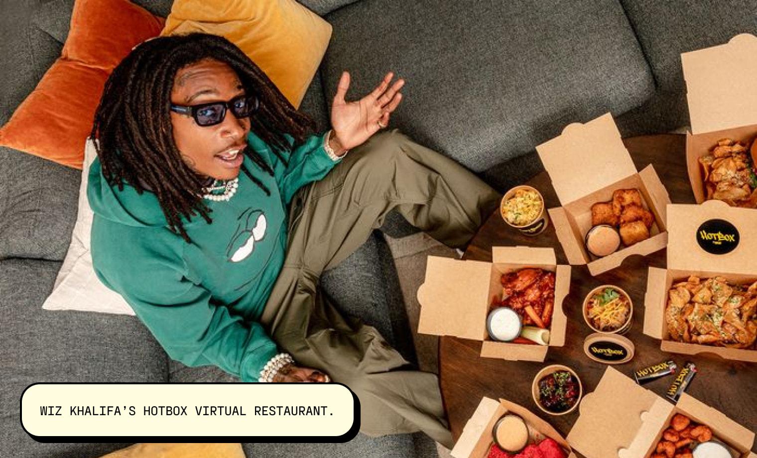 Wiz Khalifa's HotBox virtual restaurant.