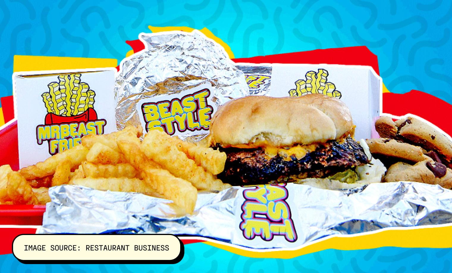 MrBeast Burger Image source: Restaurant Business