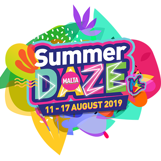 Logo for Summer Daze Music Festival, Malta 2019