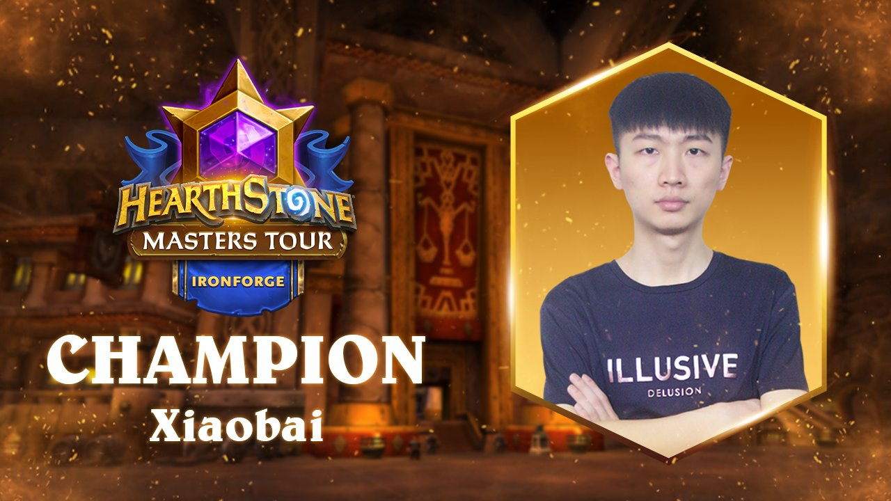 Hearthstone Masters Tour Ironforge winnaar