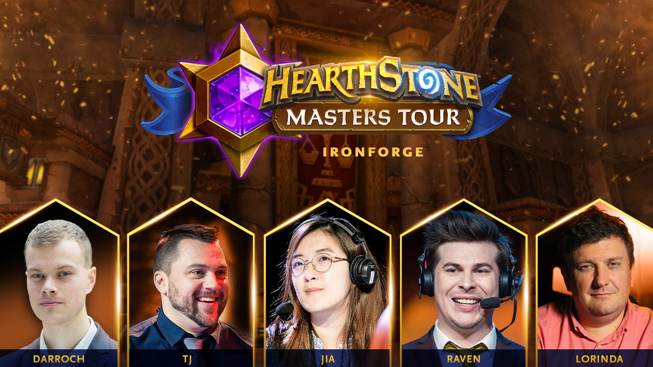 Hearthstone Masters Tour Ironforge casters